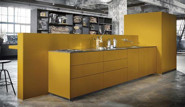 Moderne, greeploze keuken