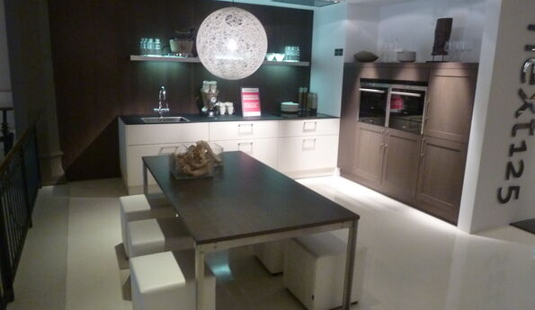 Showroomkeuken Magnolia CVT keukens Tilburg