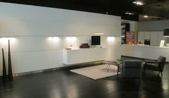 Showroomkeuken Wit hoogglans CVT keukens Breda