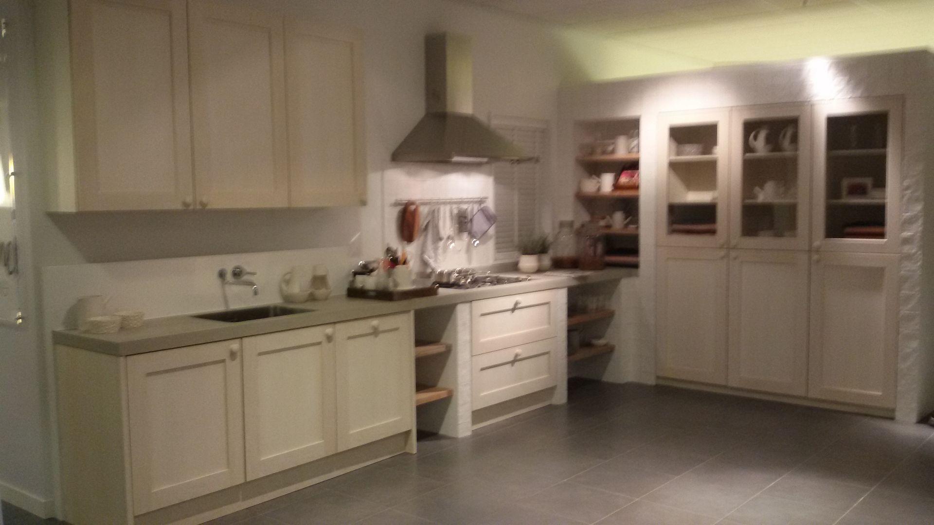 Showroomkeuken Ice Grey CVT keukens Tilburg
