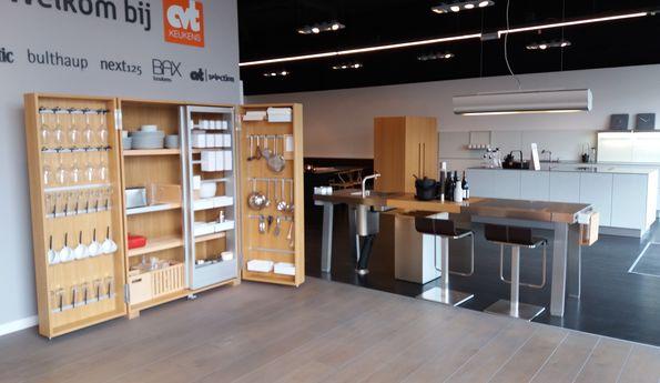 Showroomkeuken  CVT keukens Breda