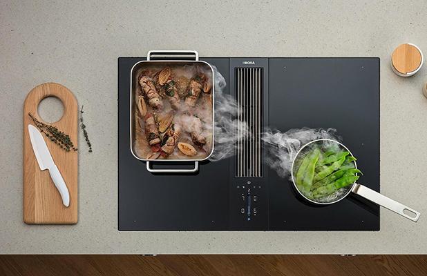 Bora kookplaat met afzuiging