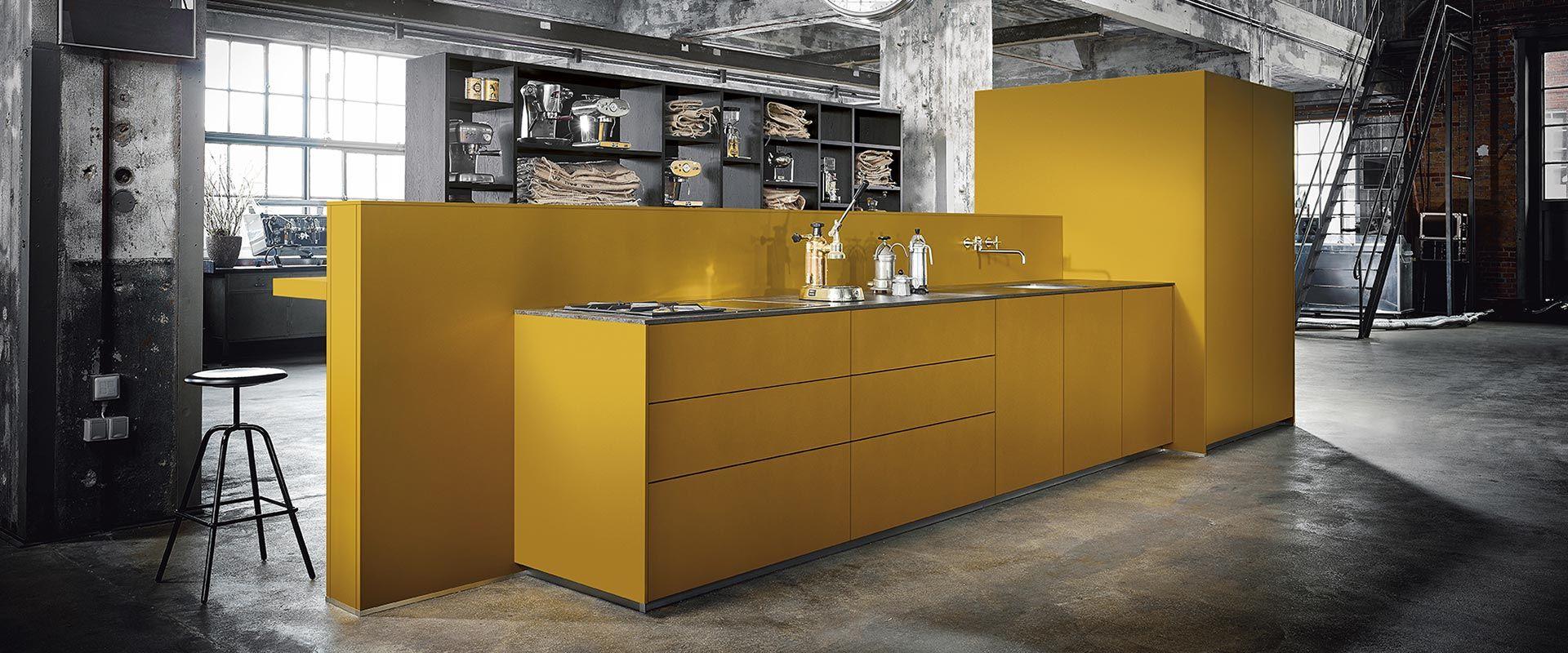 keuken geel