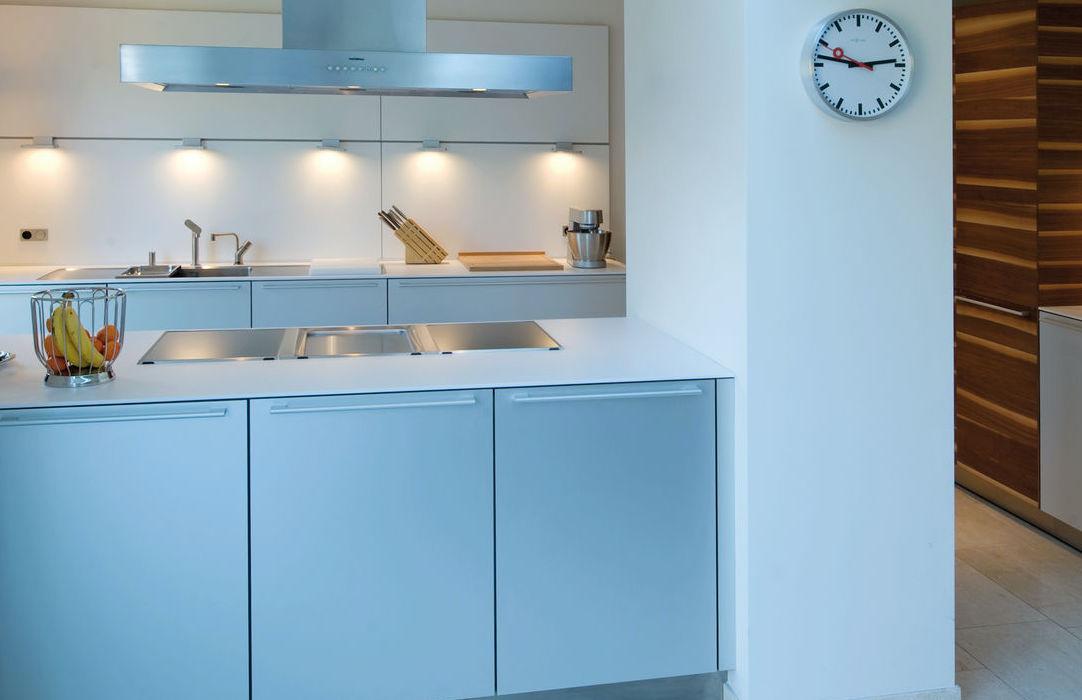 kleine open keuken