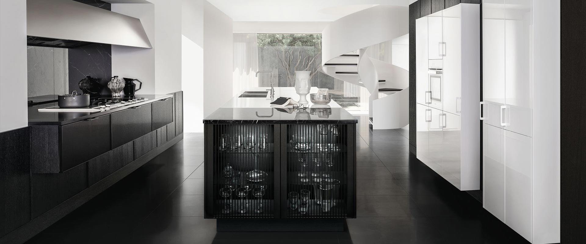 Zwevende keukenkasten