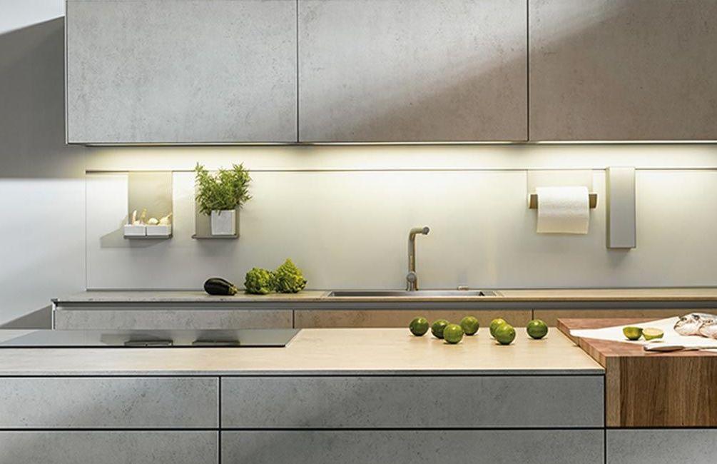 kleine u-keuken